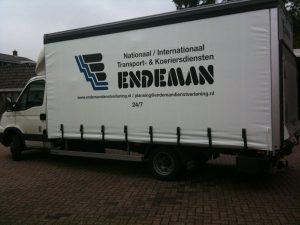 Endeman vrachtwagenzeil