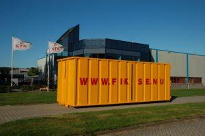 Fiksenu containerzeil