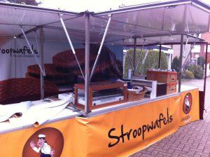 Stroopwafels marktwagen