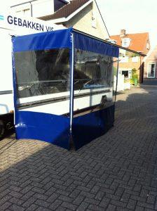 Vis marktwagen