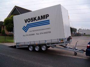 Voskamp aanhangerzeil