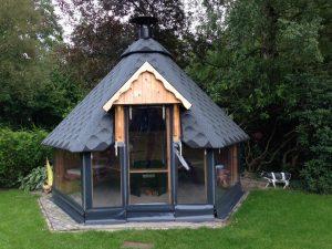Zeil Hut Terras